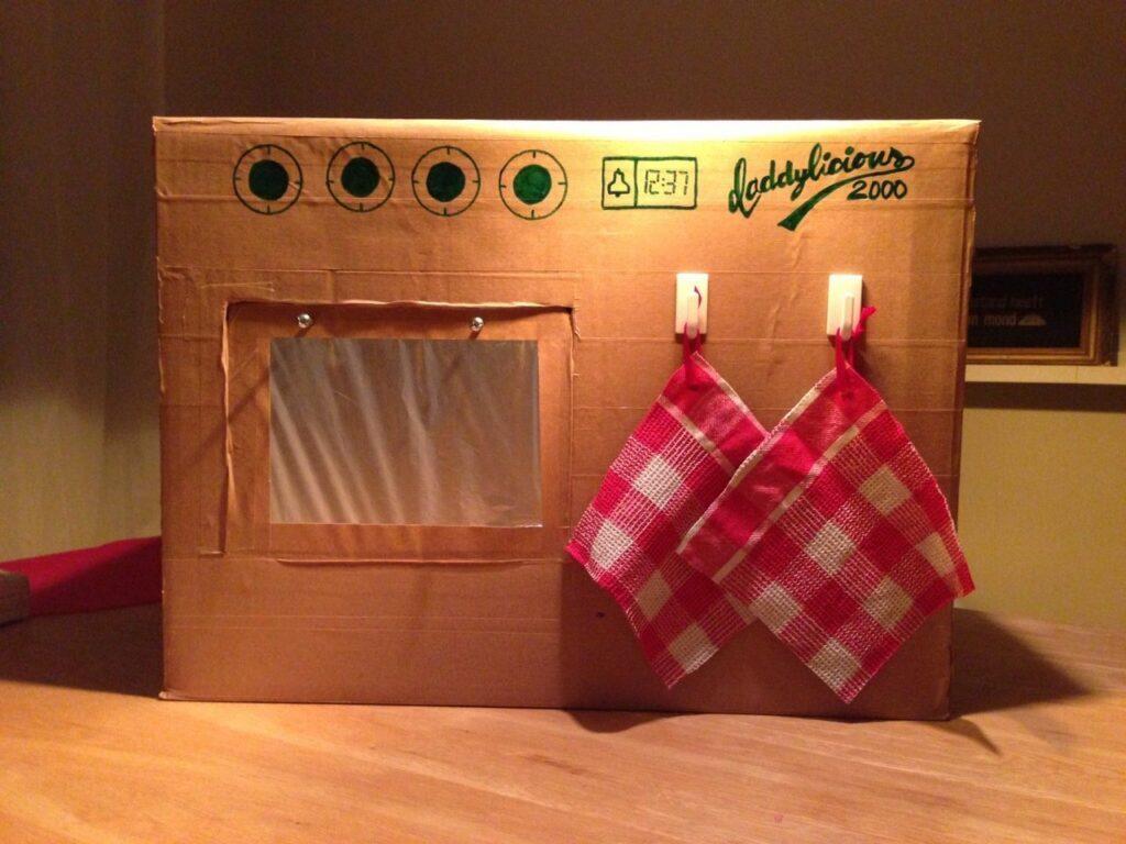 Unser DIY Kinderherd