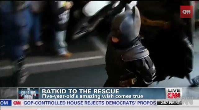BatKid saves transformed Gotham City YouTube
