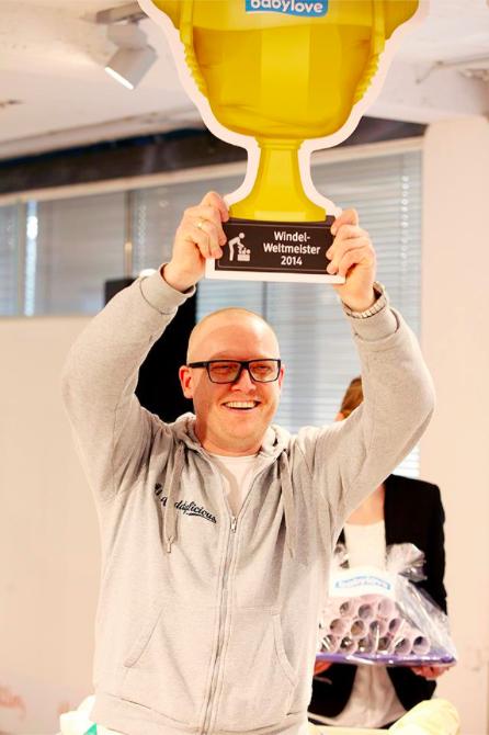 Windel-Weltmeister 2014
