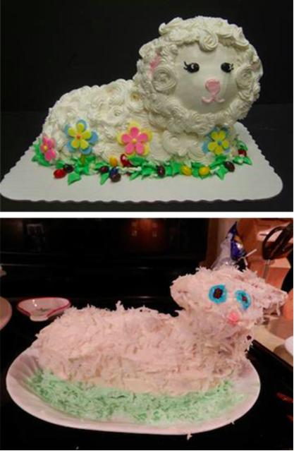 Baking Fails Pinterest