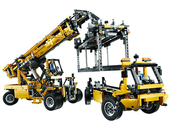 Lego Technic Schwerlastkran