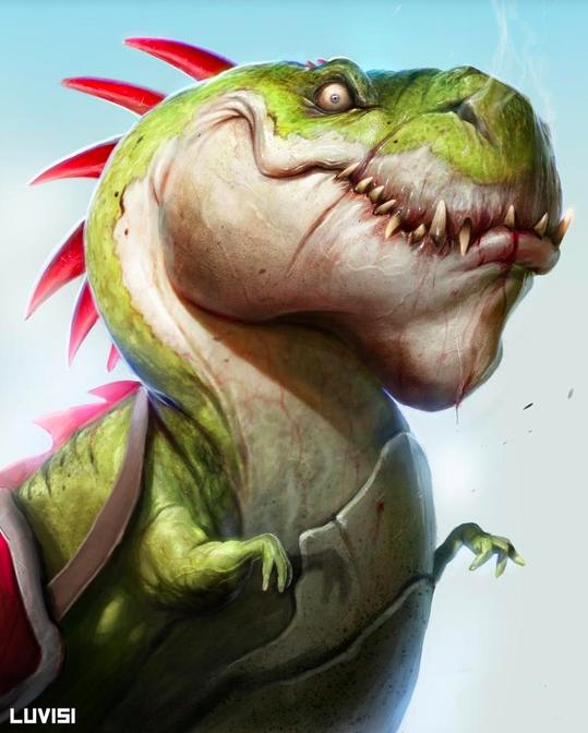 Dan Luvisi Dinosaur