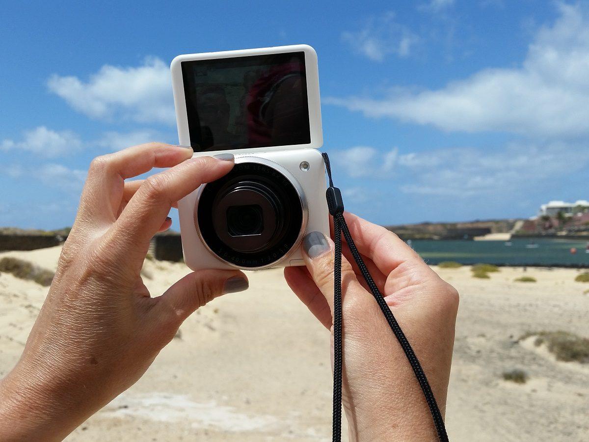 Canon Powershot N2 ist perfekt für das Selfie