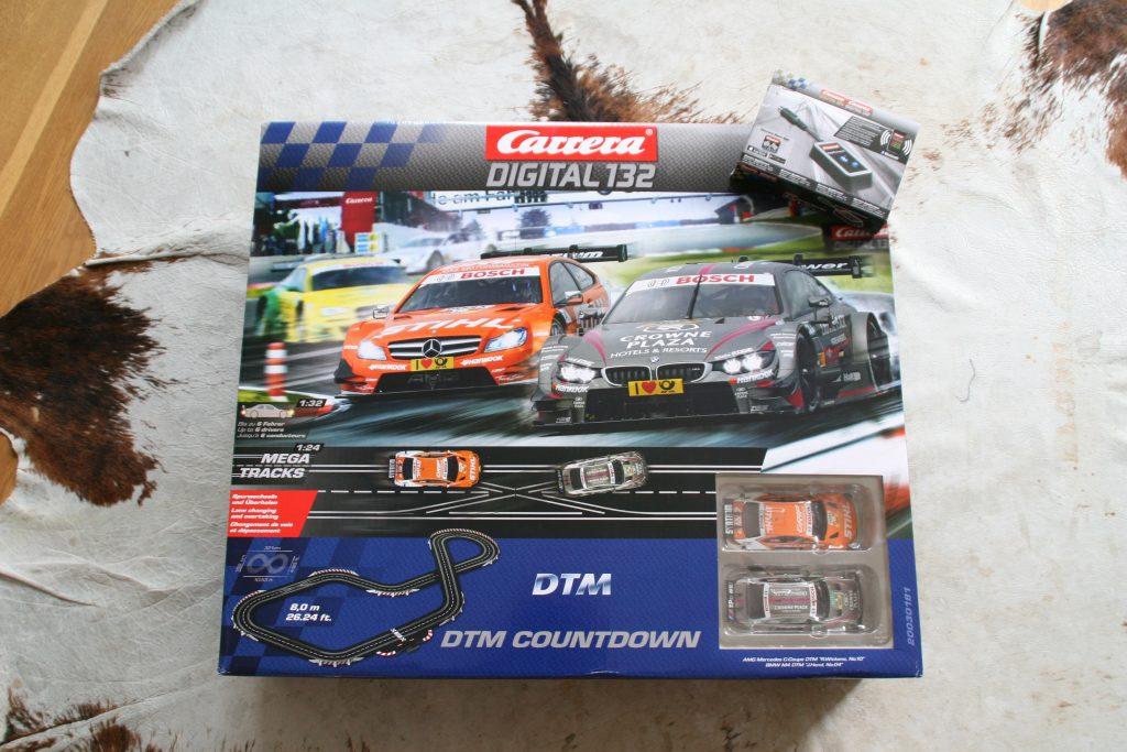 Autorennbahn Carrera Digital 132 DTM Countdown