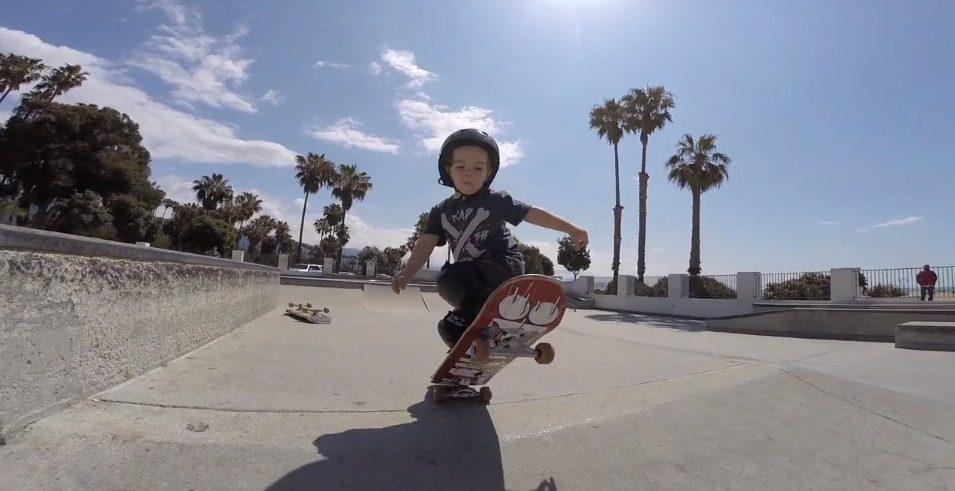 Cilas Shetler 2 1 2 years old Santa Barbara and Solvang skate park. on Vimeo
