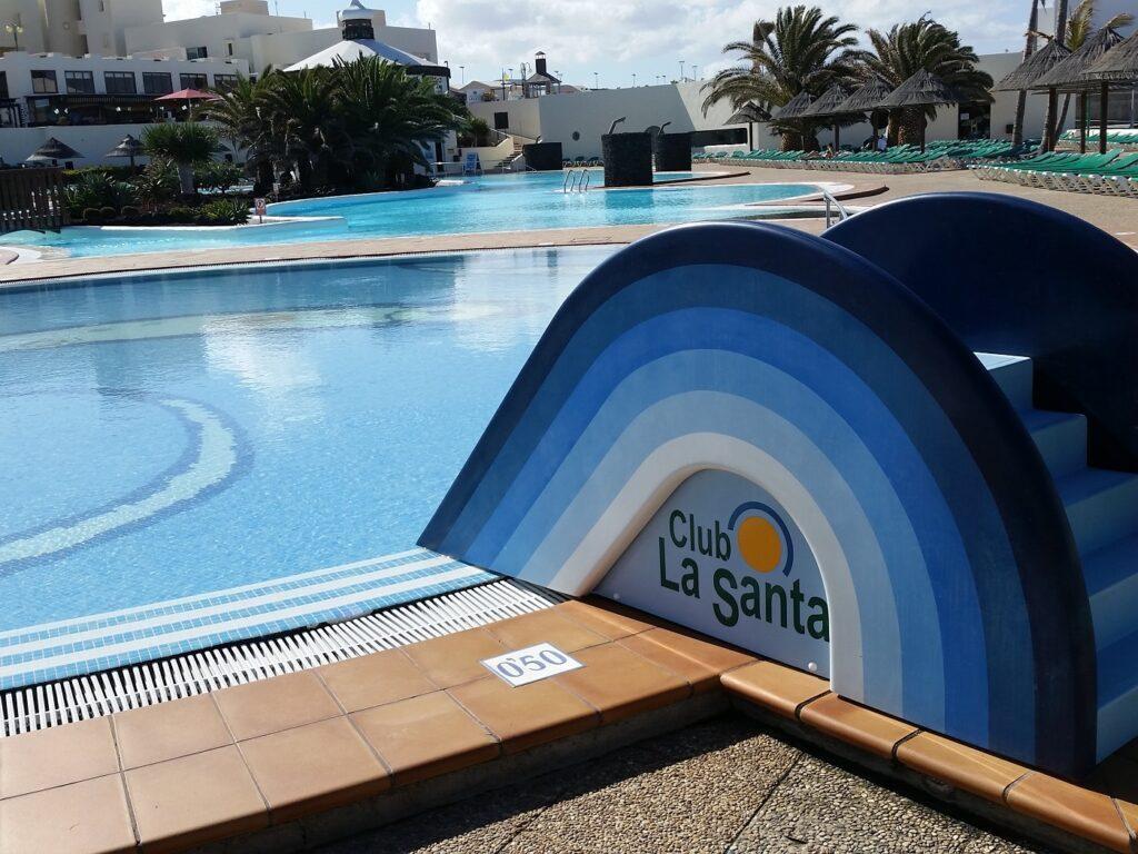Club La Santa Lanzarote Kinderrutsche