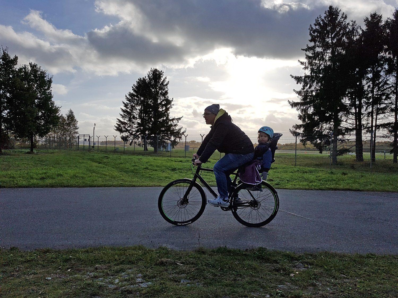 cube fahrrad kindersitz