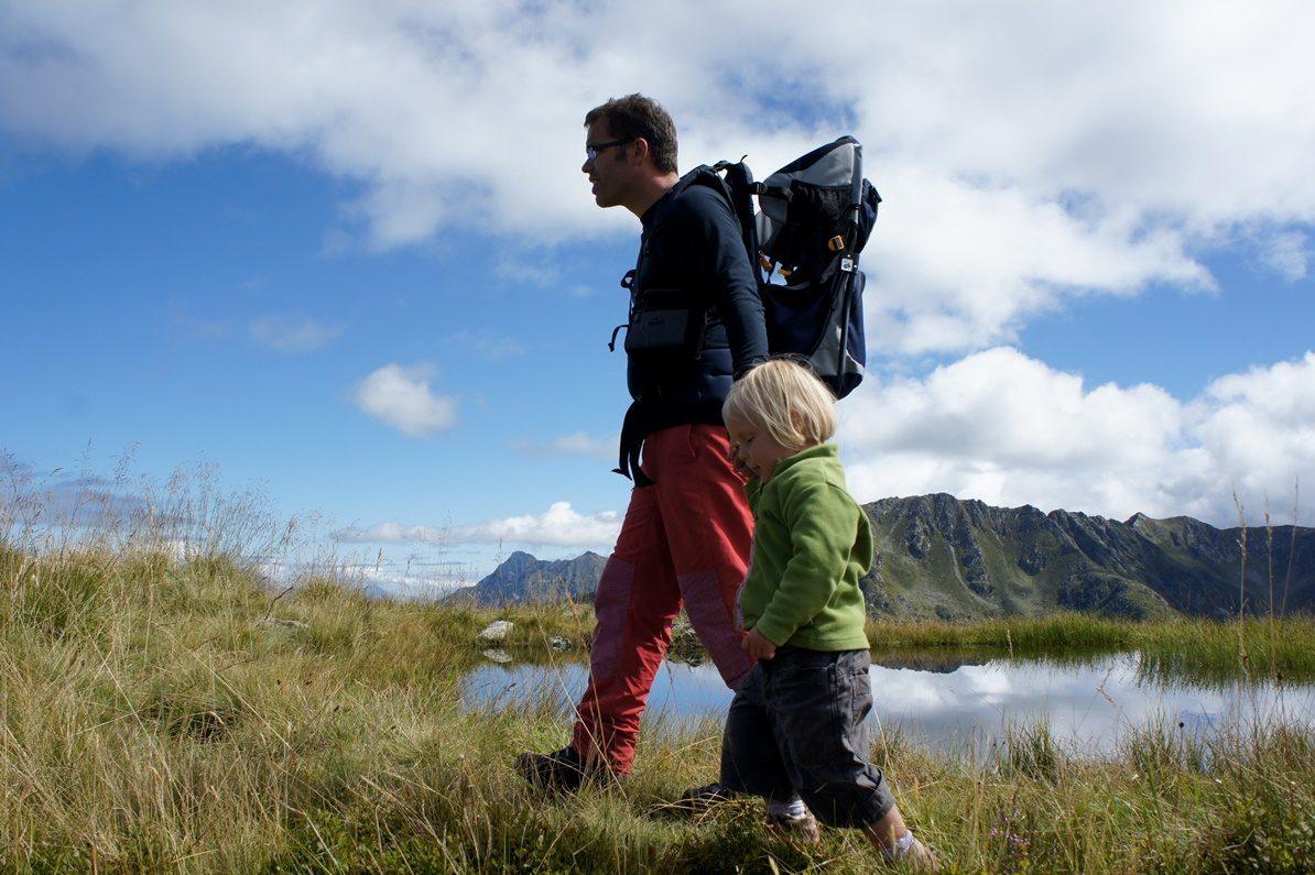 Uli Wittmann mit Babytrage