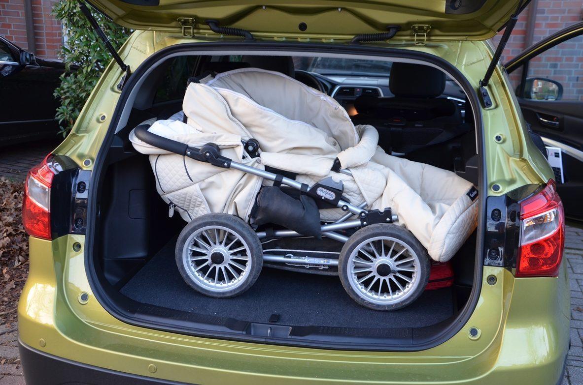 Suzuki SX4 S Cross Kofferraum