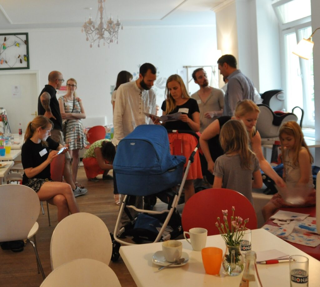 Bloggertreffen beim Britax Blogger Café in Berlin