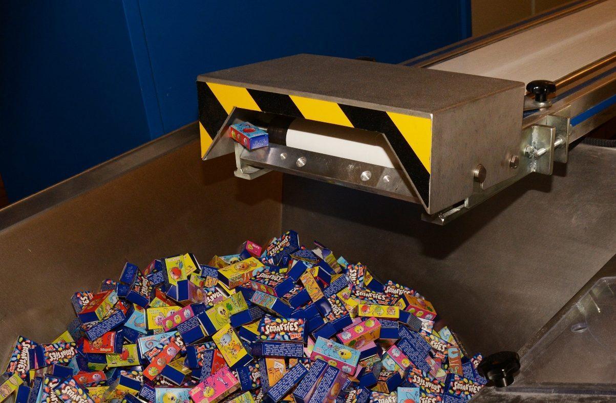 Nestlé Besuch bei Smarties