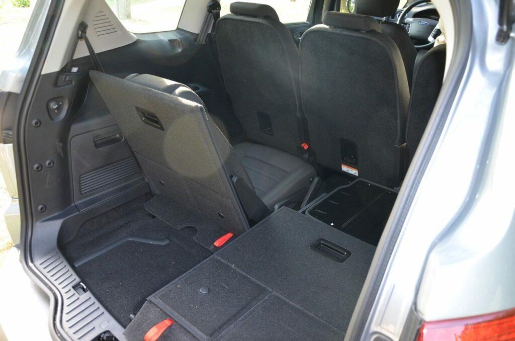 Ford S-MAX Titanium (2014) Dritte Sitzreihe