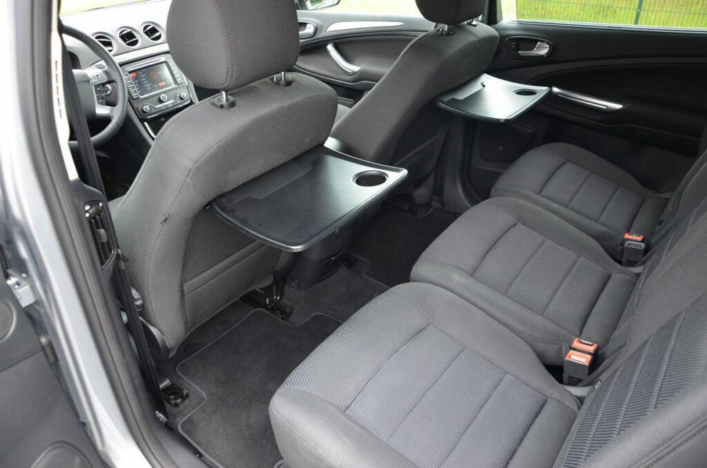 Ford S-MAX Titanium (2014) Rückbank