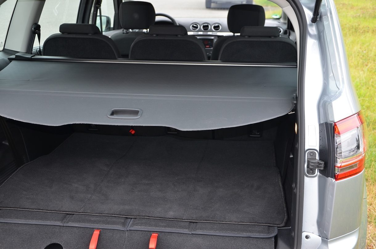 Ford S-MAX Titanium Kofferraum