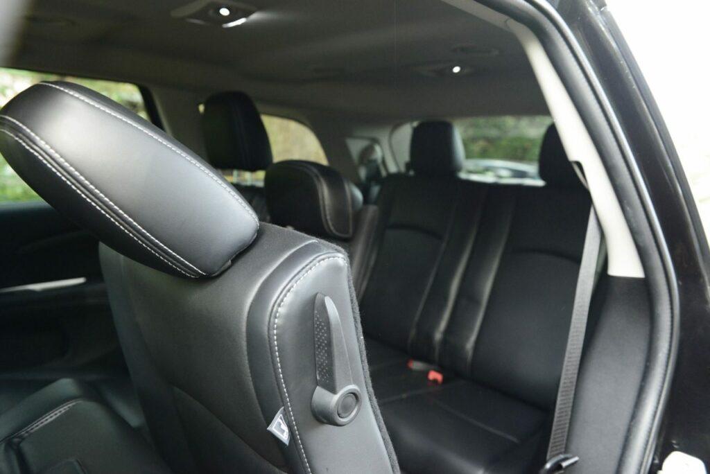 Fiat Freemont 2.0 (2013) Rücksitze
