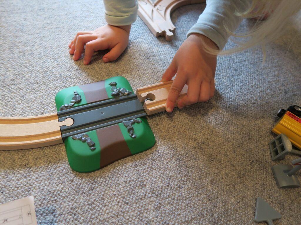 Easy Aufbau auch für die Kleinen mit Brio