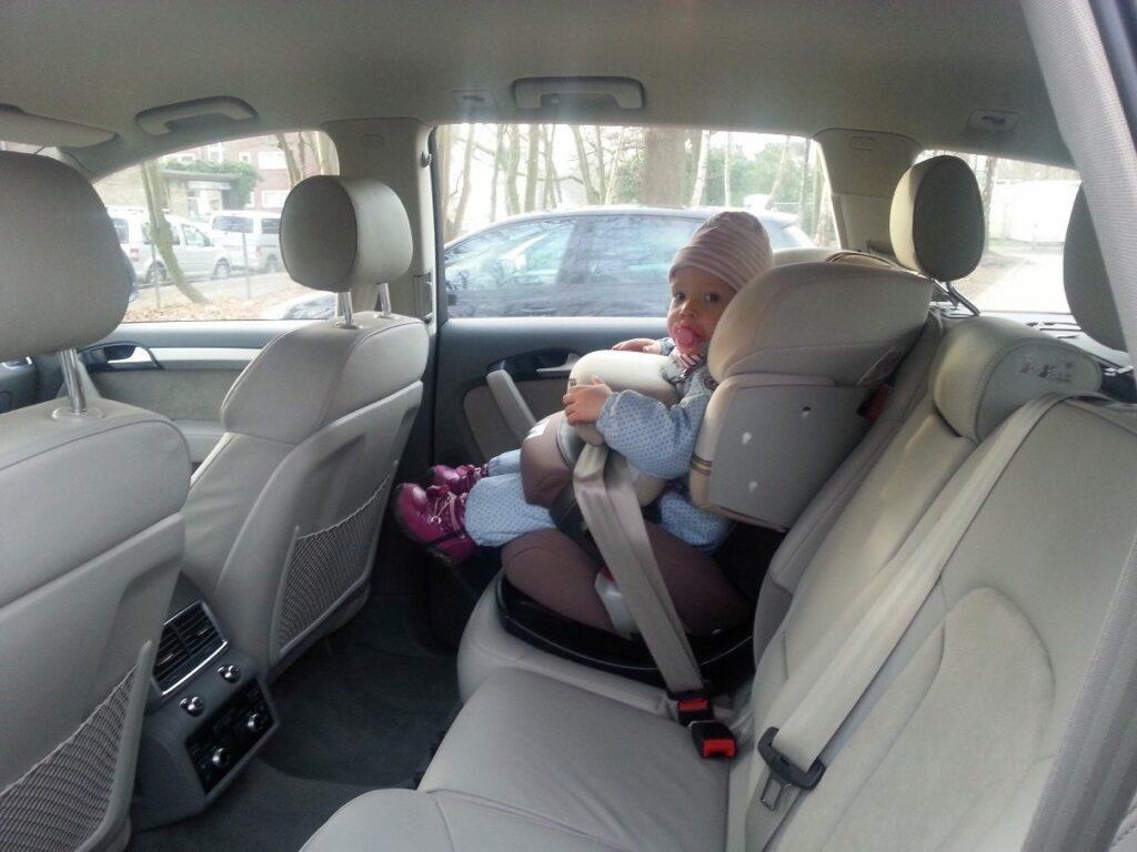 Audi Q7 3.0 TDI (2014) Kindersitz