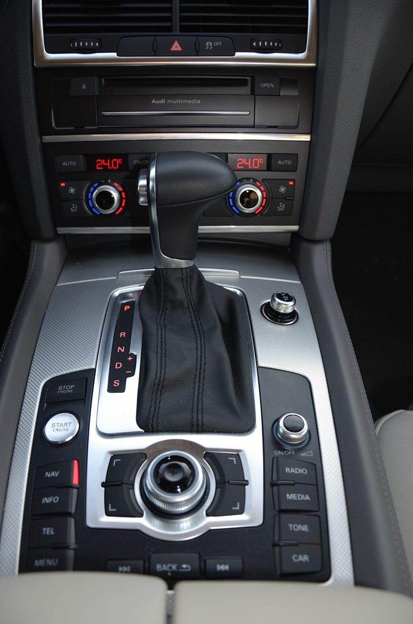 Audi Q7 3.0 TDI (2014) Schaltung