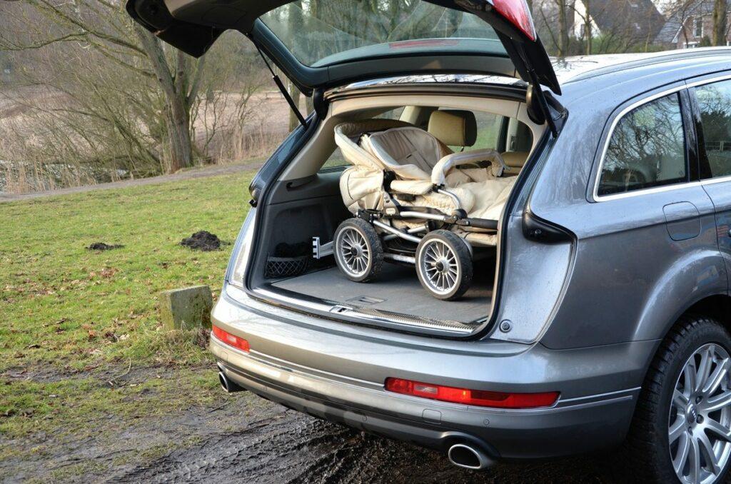 Audi Q7 3.0 TDI (2014) Kofferraum