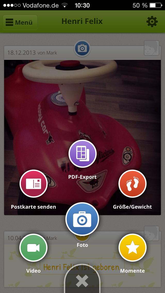 Lovli-App-Funktionen