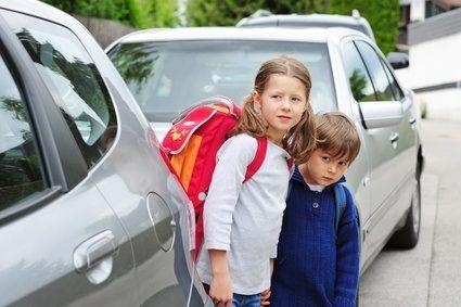 Schulranzen und Sicherheit