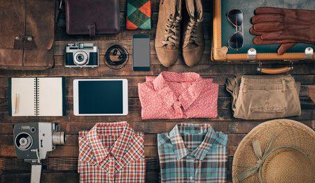 Urlaub Koffer packen