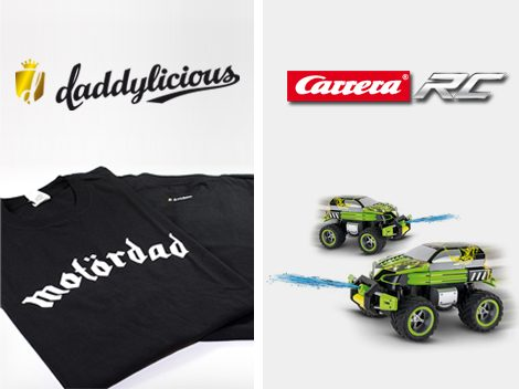 Carrera RC Daddylicious Gewinnspiel