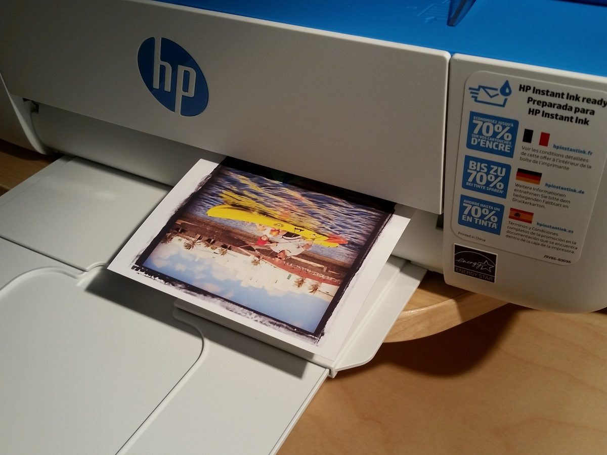 HP DeskJet 3720 Ausdruck