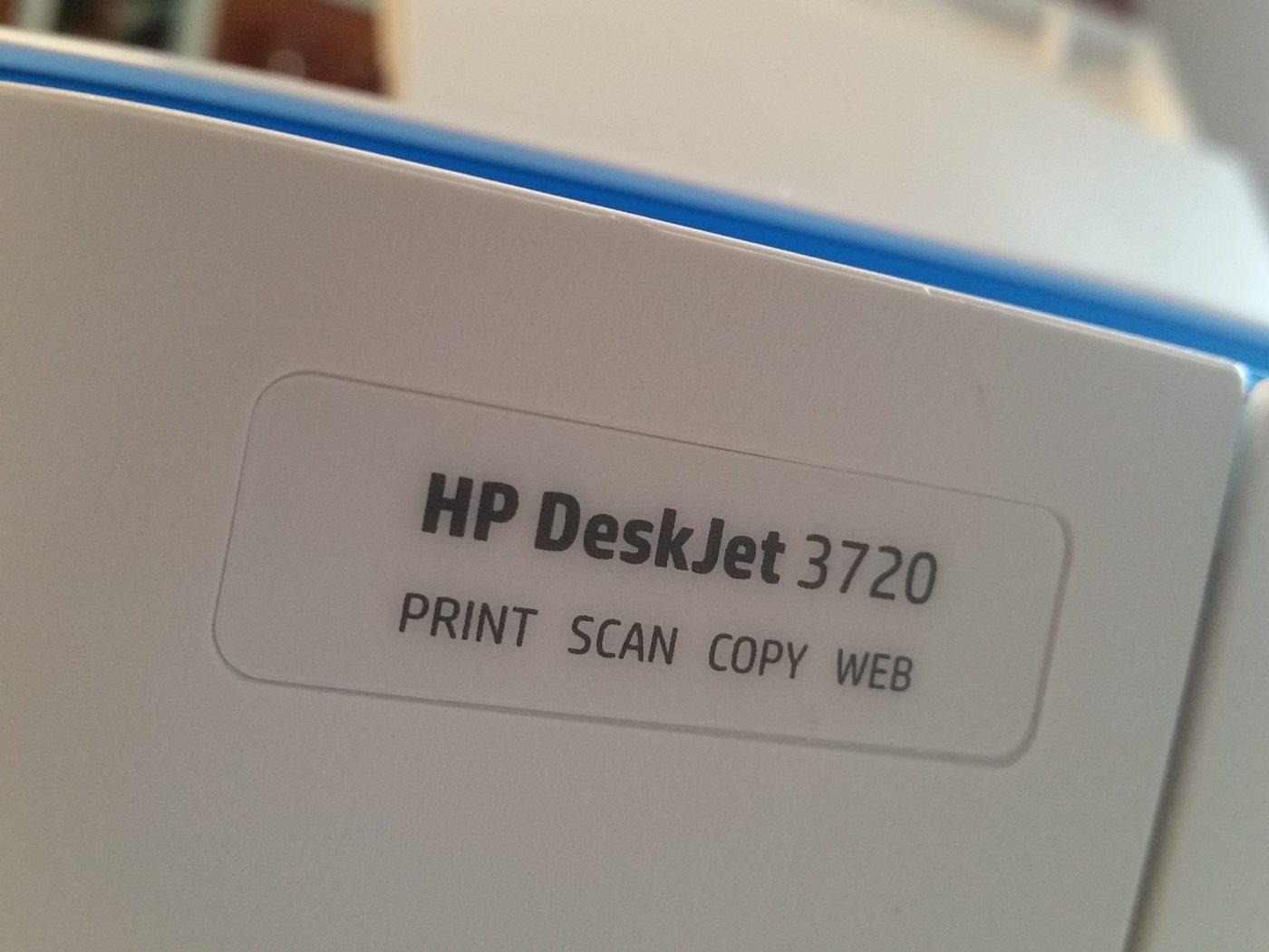 HP DeskJet 3720 Multifunktionsdrucker
