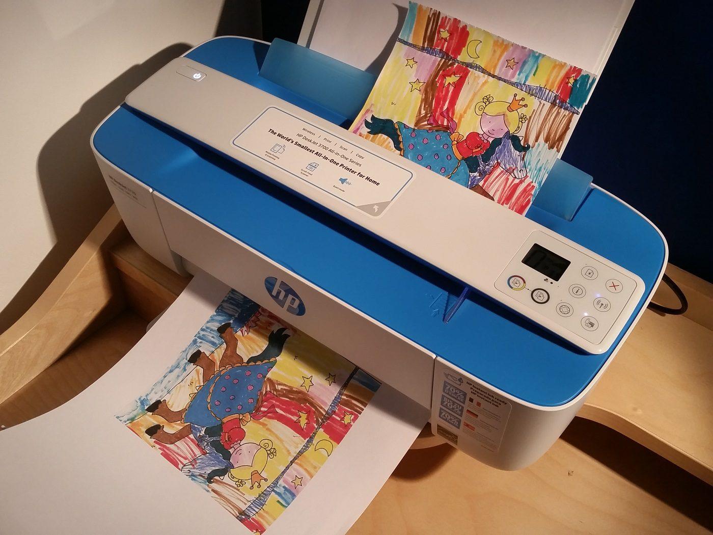 HP DeskJet 3720 Scannen