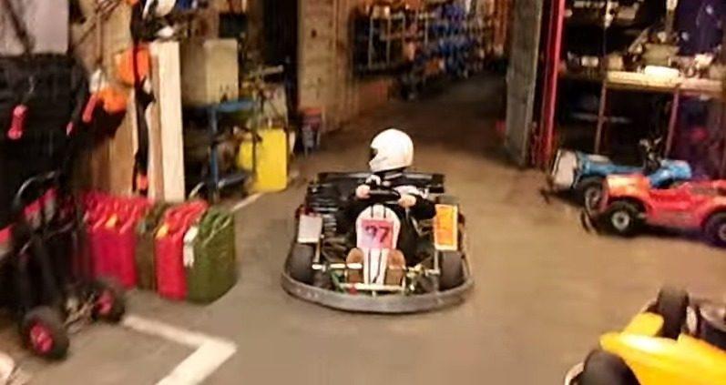 How to park a gokart YouTube