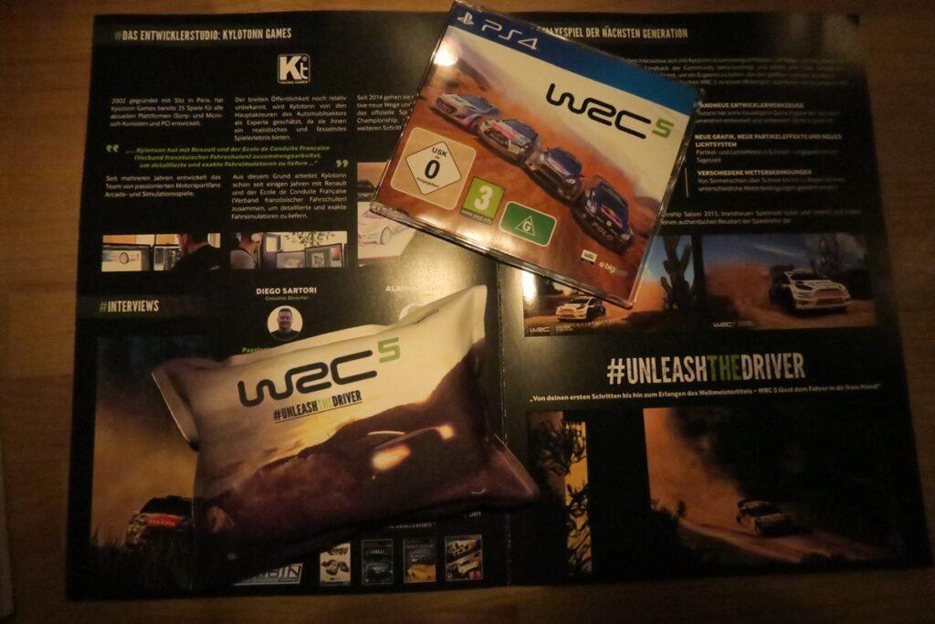 WRC 5 auf der PS4