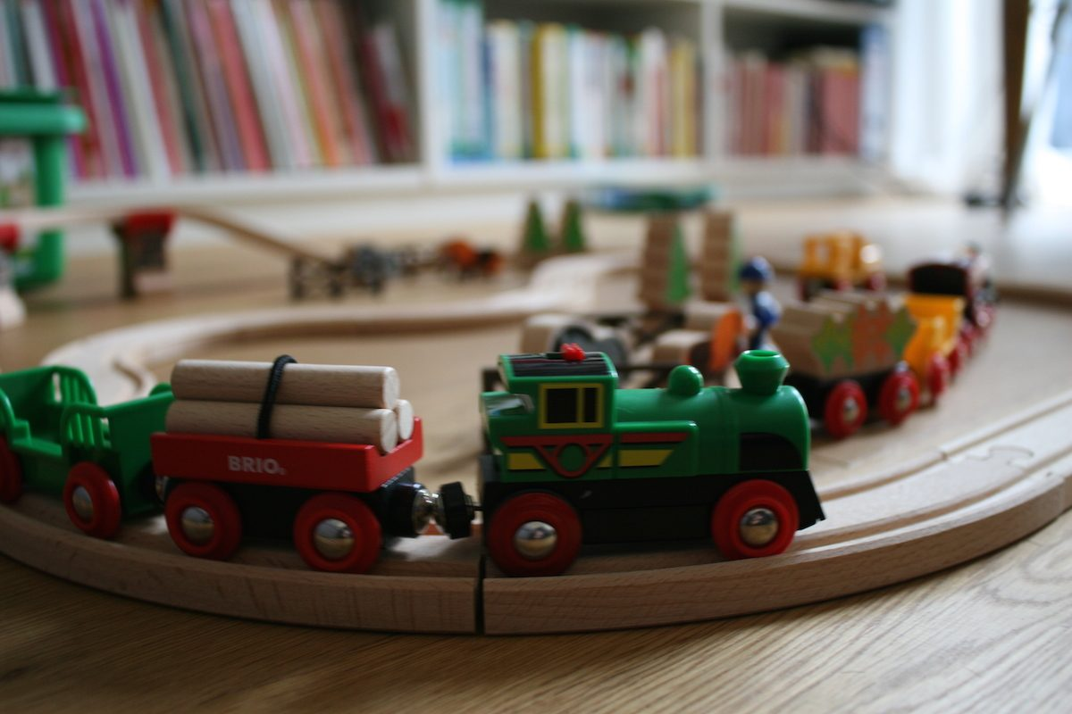 Brio Holzeisenbahn Waggon