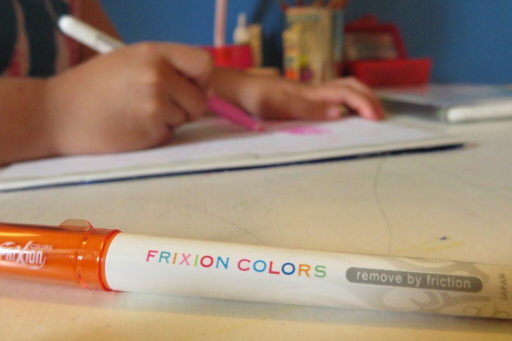 Malen mit den FriXion Colors