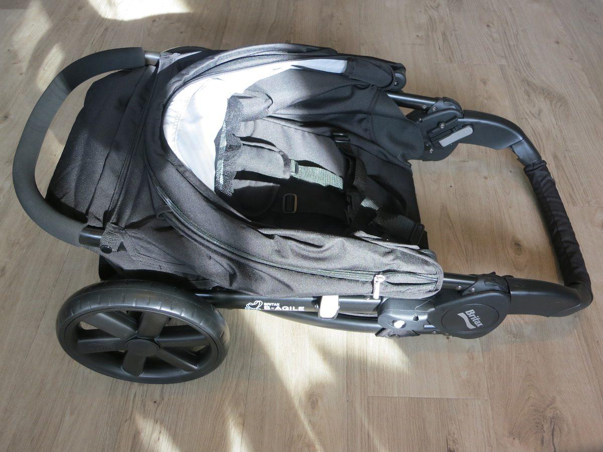 Britax B-Agile 4 Kinderwagen geklappt