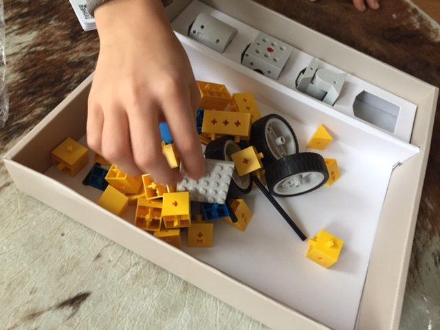 Bei Tinkerbots wird erst gebaut und dann gespielt