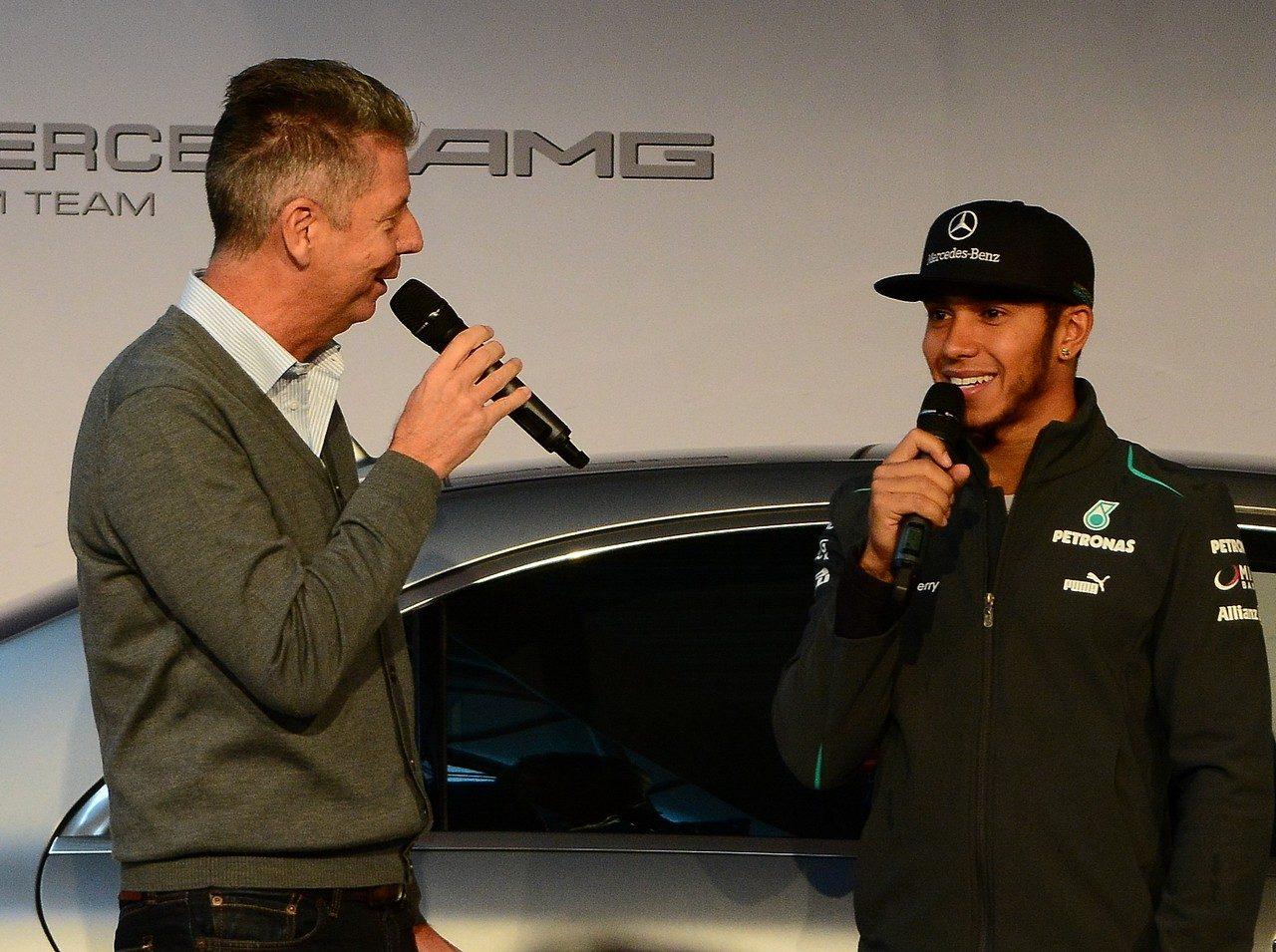 DTM Finale 2013 Heiko Wasser und Lewis Hamilton