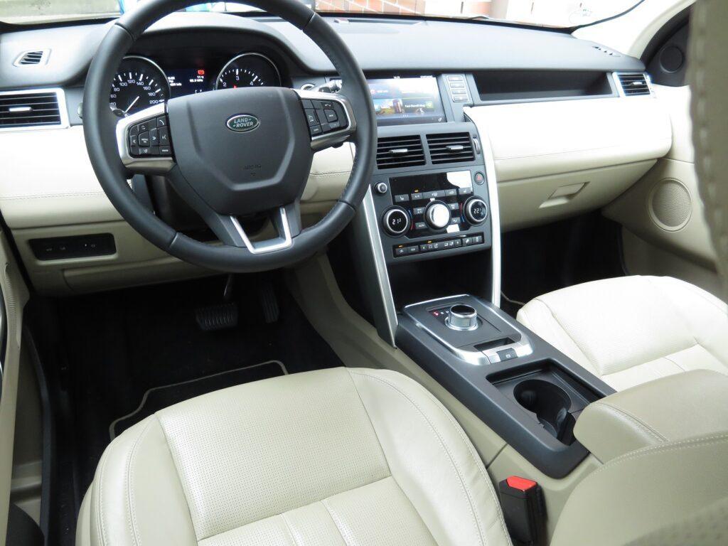 Land Rover Discovery Sport Fahrersitz