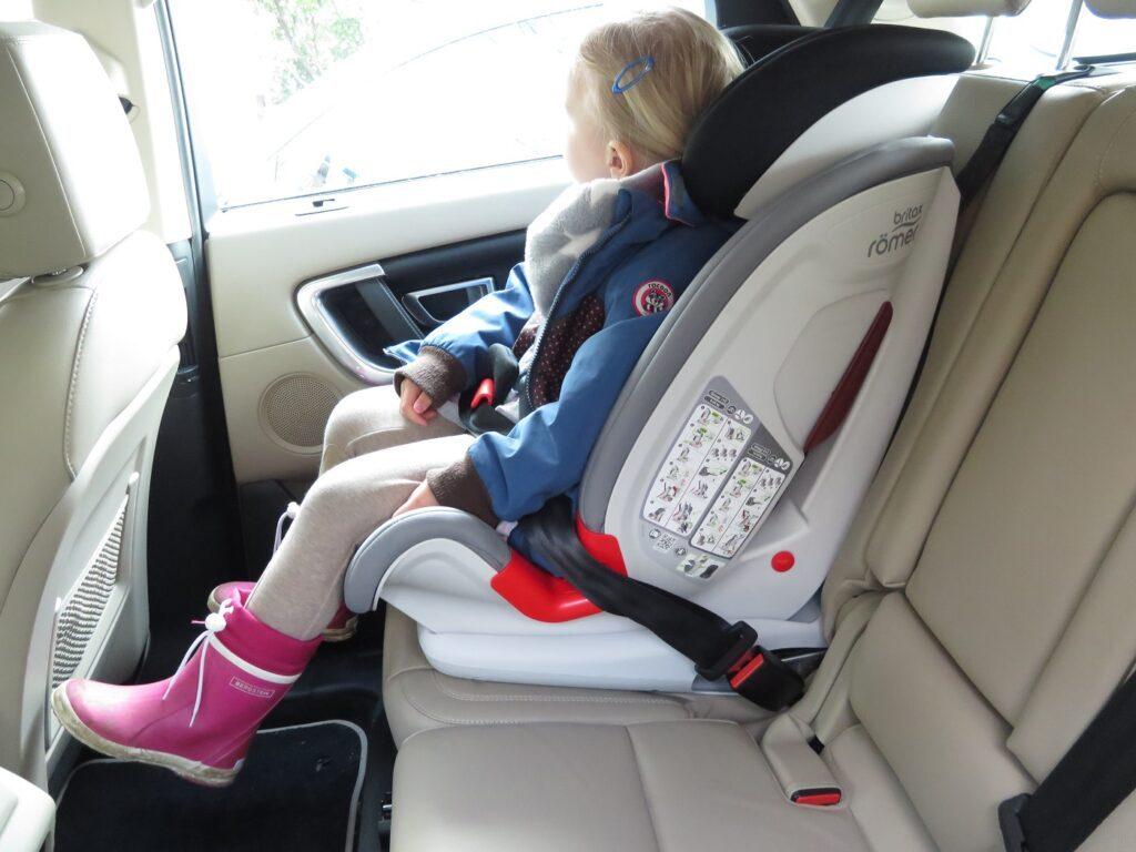 Land Rover Discovery Sport Kindersitz