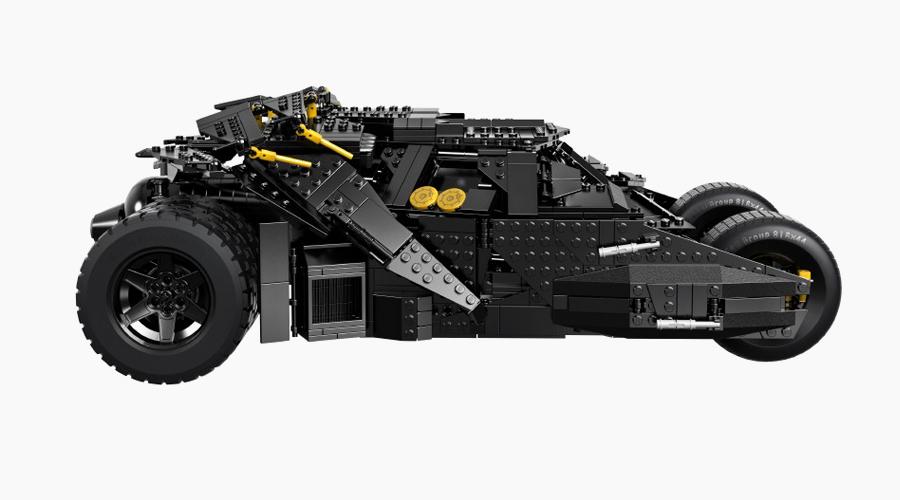 Lego Tumbler Batman Seitenansicht