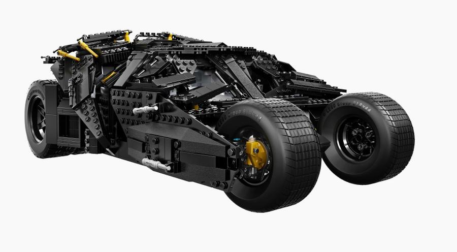 Lego Tumbler Batman seitlich