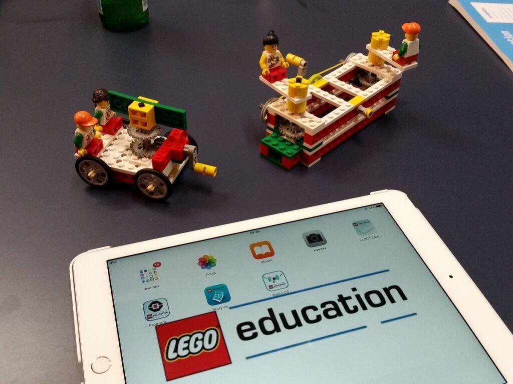 Edukatives Lernen mit LEGO education