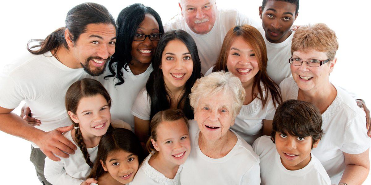 Multikulturelle Familie