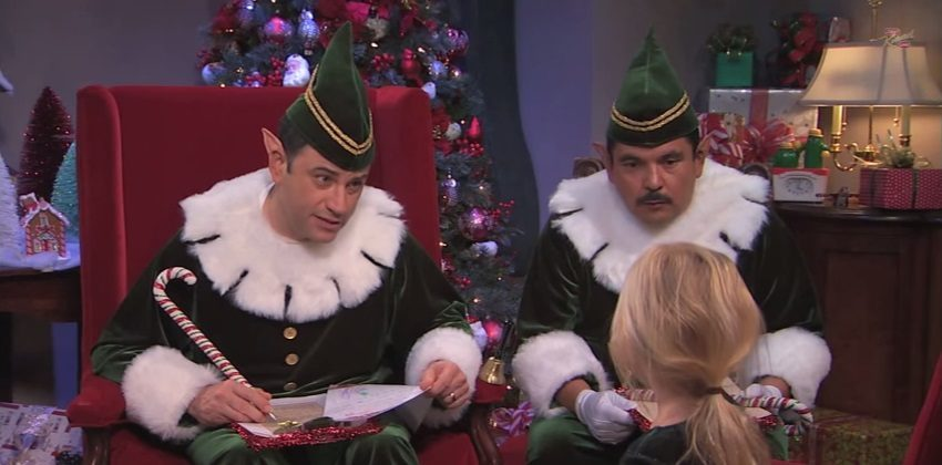 Naughty or Nice with Jimmy Kimmel and Guillermo YouTube