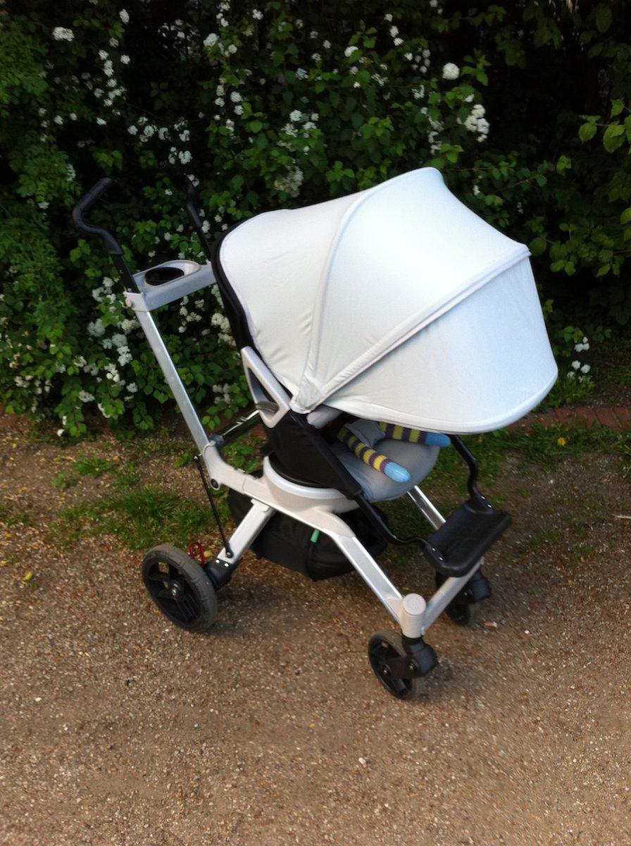 Orbit Baby Stroller G2 (2014) mit Verdeck