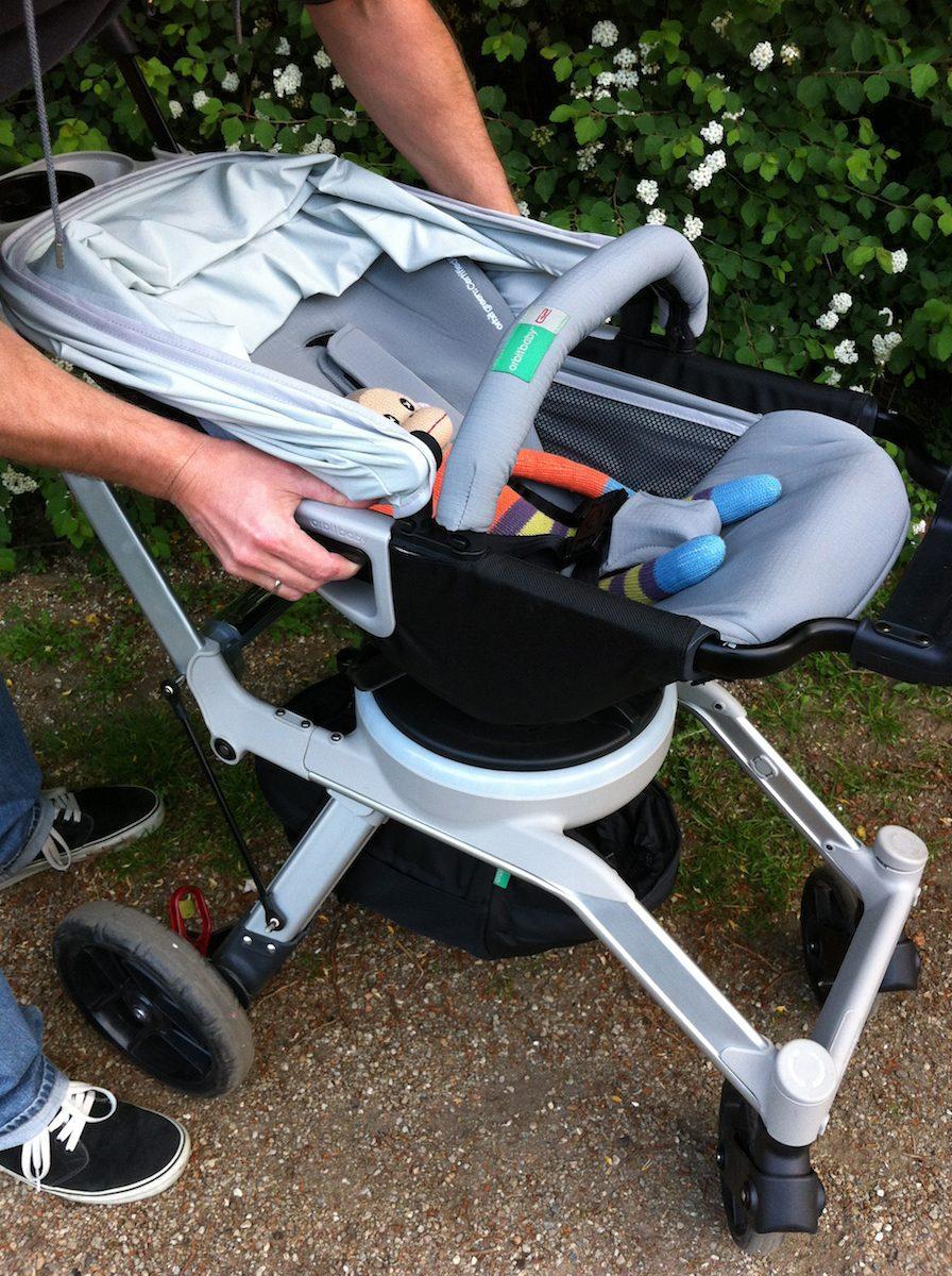 Orbit Baby Stroller G2 zum Abnehmen
