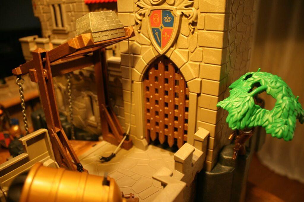 Playmobil Daddylicious Castle Burgtor
