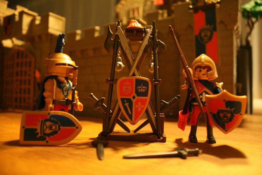 Playmobil Daddylicious Castle Waffen