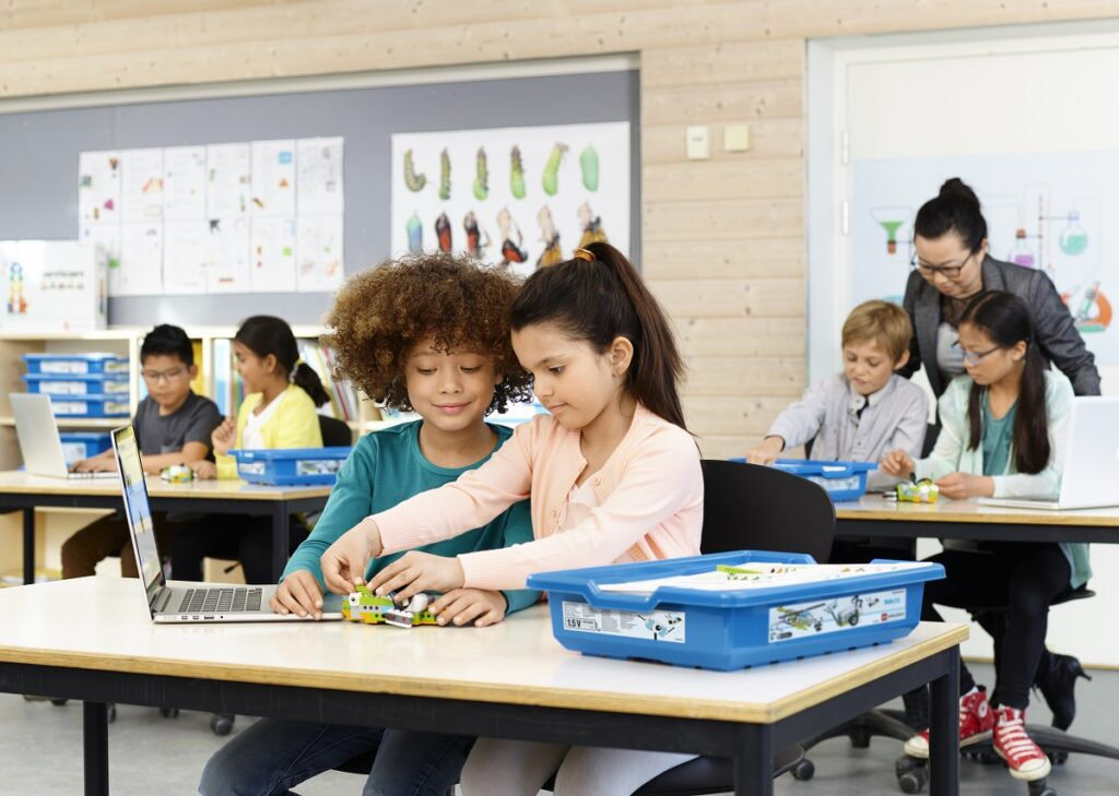 Pressebild LEGO Education WeDo 2 10