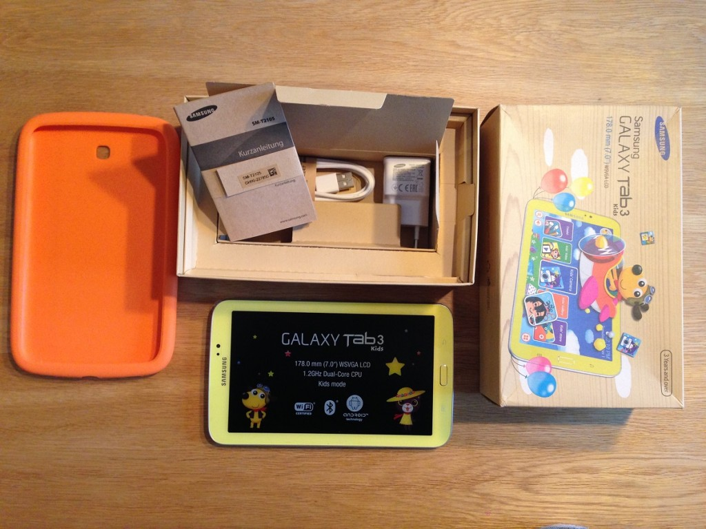Samsung Galaxy Lieferumfang